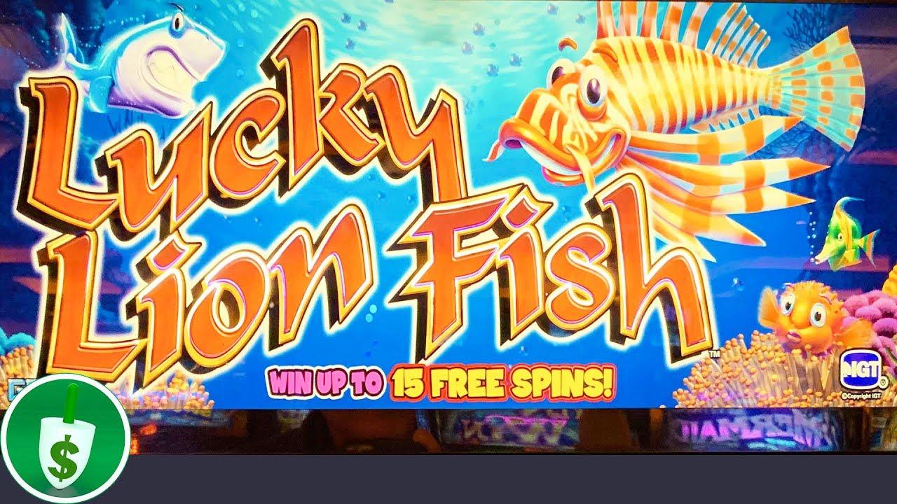 Lion Fish Slot Machine Game