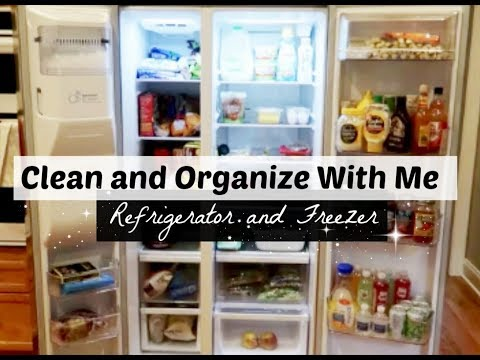 Clean and Organize With Me: Fridge + Freezer | Cleaning Motivation