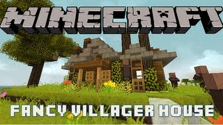 Minecraft :: Lets Build :: Fancy villager home