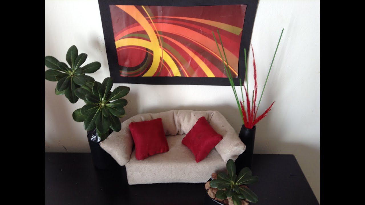Episodio68 como hacer cuadro maceta y floreros para for Como hacer muebles para sala