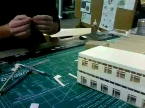 Architectural Model Making Youtube