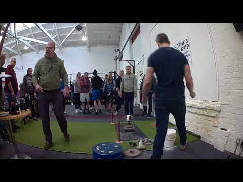 WORLD OF GRIP THE GOLD BAR STAFFORD COMP 27. 01. 2018