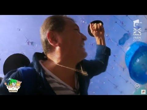 Nea Mărin, băgat de Vârciu într-un balon: