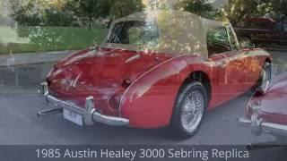 1985 Austin-Healey 3000 Saxon Replica - Ross's Valley Auto Sales - Boise, Idaho