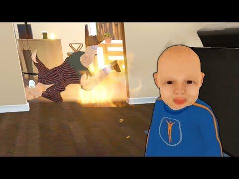 Zły DZIECIAK Podpalił Swoją Babcię! (Granny Simulator)