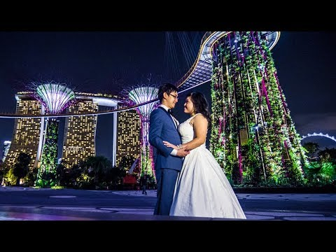 Destination Wedding video in Singapore: Alvin&Tong Tong // Luxury wedding Videography