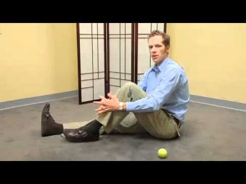 Sciatica  Hip Pain Self Massage and Exercises