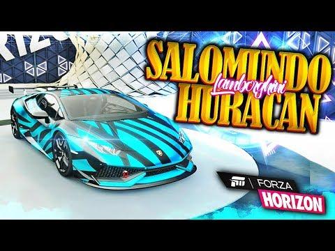 HURACÁN DE SALOMUNDO - FORZA HORIZON 3 / TUNING #8