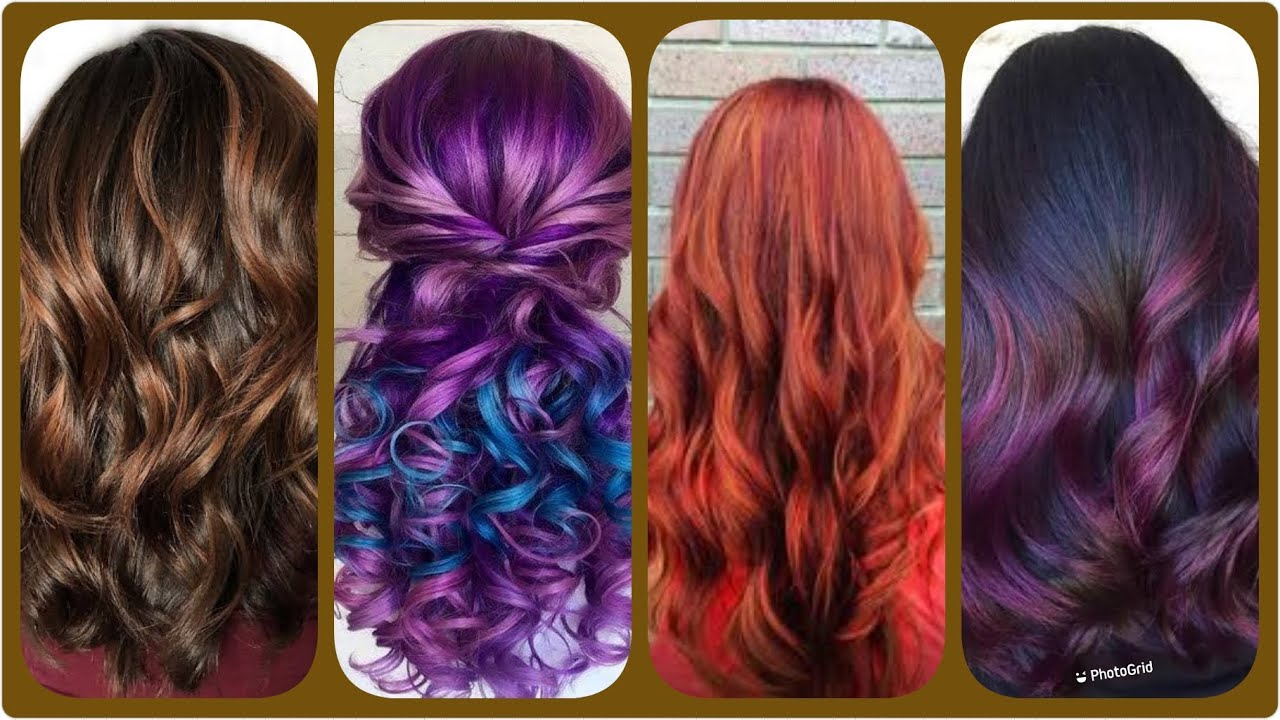 Hair Color Ideas Highlights Lowlights Chose The Best Hair Colour According To Your Skin Youtube