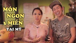 Việt Hương - Thưởng Thức Món Ăn 3 Miền Tại Mỹ Cùng Việt Hương và Hoài Tâm