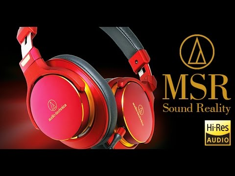 Audio-Technica ATH-MSR7 Обзор и сравнение с ATH-M50. Премиум наушники