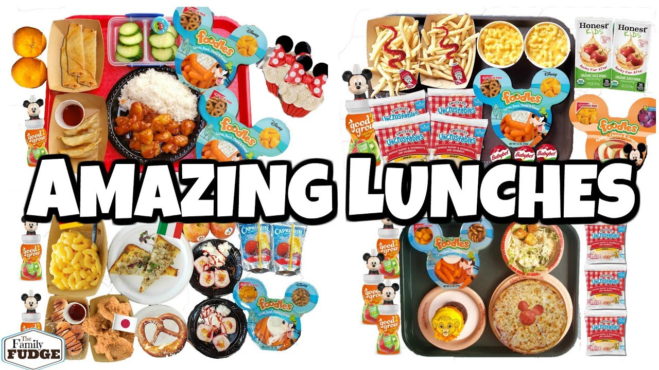 f33c2f3d605f AMAZING Lunches from DISNEYWORLD! 🌎 Bunches Of Lunches