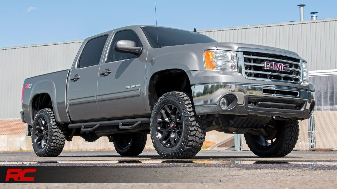 2007 2013 gm 1500 3 inch body lift by rough country youtube 2007 2013 gm 1500 3 inch body lift by rough country freerunsca Gallery