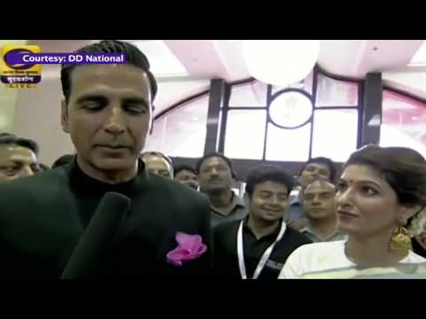 #NFA: Red Carpet:  An Interaction with film actor Akshay Kumar
