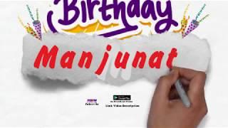 Happy Birthday Manjunath