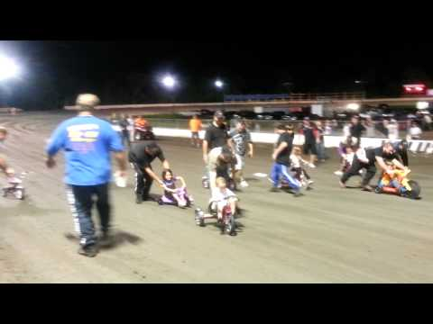 Volusia Speedway Park 8/3/13 Tricycle Race