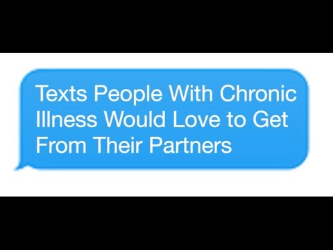 Texts People With Chronic Illness Would Love to Get From Their Partners