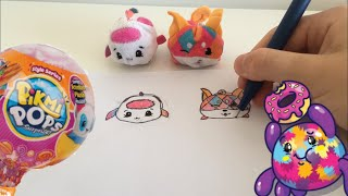 Pikmi Pops drawing +unboxing