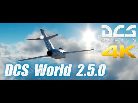 DCS World 2.5.0 - 4K UltraWide - Through The Clouds - 21:9