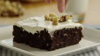Cake Recipe - How To Make Zucchini Chocolate Cake