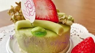 世界一のケーキを再現!ピスタチオのケーキの作り方 Clay Cake