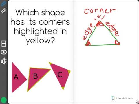[K.G.1-1.2] Names Of Shapes - Common Core Standard