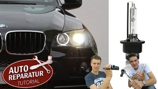 XENON BIRNE WECHSELN | Brenner erneuern BMW E46 E39 [Tutorial] HD xenon light bulb replacement