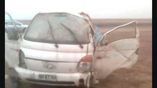 Accidente Hyundai Porter(Volcamiento en carretera., 2009-12-06T18:21:57.000Z)
