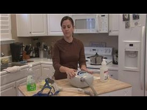 Cleaning Tips : How to Clean a CPAP Machine