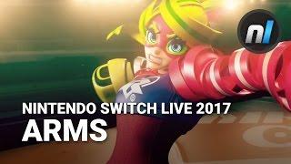 ARMS Official Trailer | Nintendo Switch Live Presentation 2017