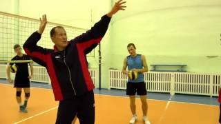 Обучение волейболу. Упражнения на отработку верхней и нижней передачи. Приём.
