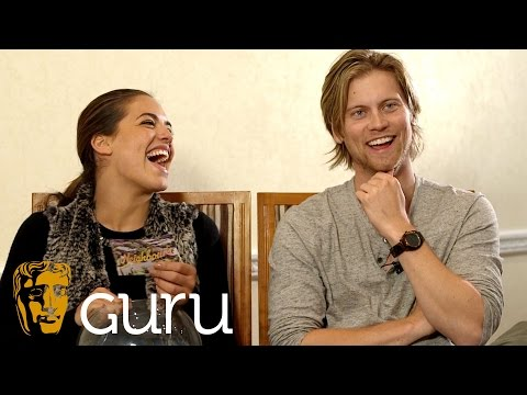 60 Seconds With...Neighbours Stars  Tim Phillipps Daniel Robinson & Olympia Valance Paige Smith