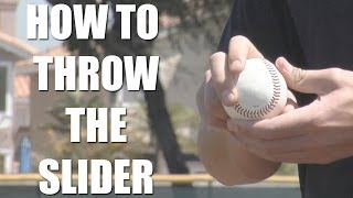 Pitching Tips: How to throw the slider with Garrett Richards