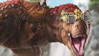 Zorlu T-rex Evcilleştirme - Ark Survival Evolved Türkçe 21#