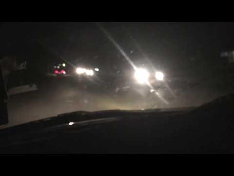 Night Cab Ride in Honiara, Solomon Islands