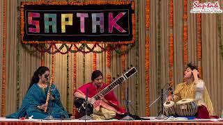 Ms Anupama Bhagwat & Ms Debopriya Ranadive - Sitar & Flute ( Saptak Annual Festival 2018)