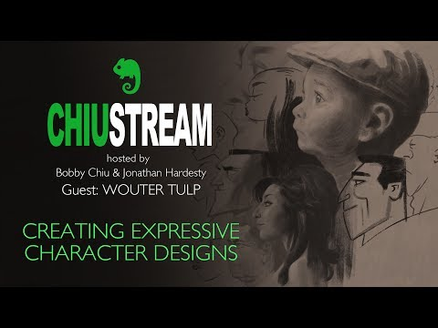 Creating expressive character designs with Wouter Tulp