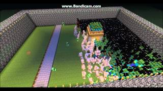 Epic Minecraft War.