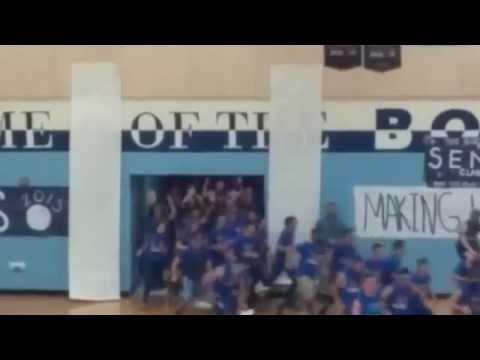 Oyster River High School 2015senior run out