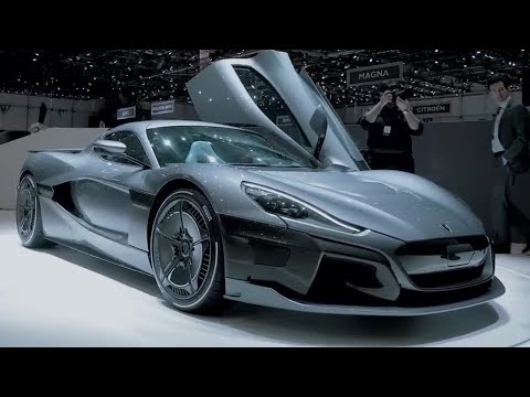 Rimac C Two | Geneva Motorshow 2018 | Top Gear