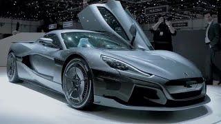 Rimac C Two | Geneva Motorshow 2018 | Top Gear