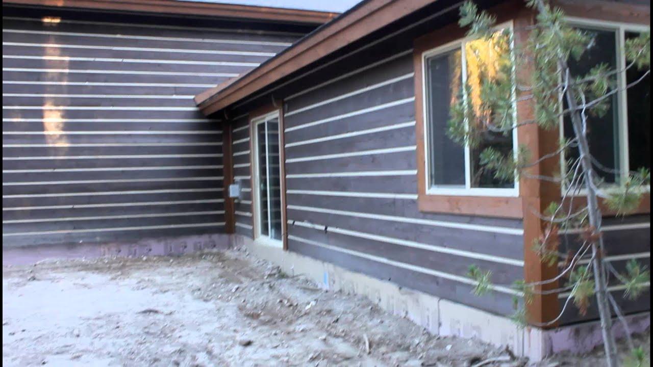 A 1x10 Cedar Channel Rustic Home Made By Lance Boyce