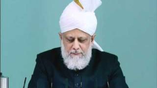 Friday Sermon: 26th November 2010 - Part 3 (Urdu)