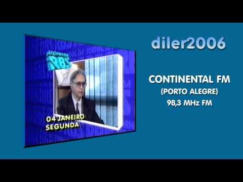 Vinheta: Continental FM - Porto Alegre (1996)