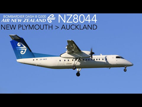 Air New Zealand NZ8044 : Flying From New Plymouth To Auckland