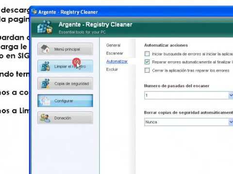 argente - registry cleaner 3.0.0.2