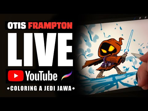 Otis Frampton LIVE - July 9th, 2019 - Coloring A Jedi Jawa