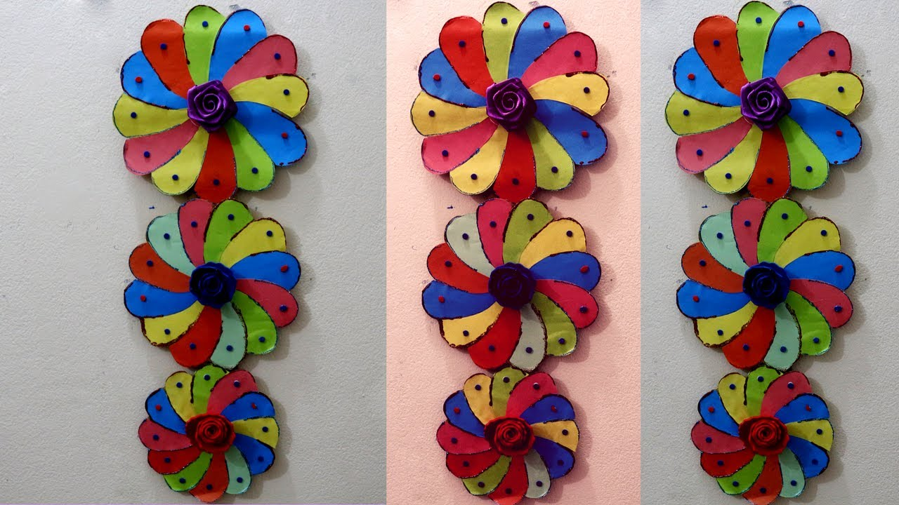 Wall hanging ideas with cardboard how to make wall for Wall hanging out of waste material