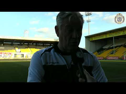 """Peter Maes: """"We willen de punten thuis houden tegen Kortrijk."""""""