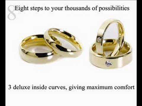 Classic range of wedding rings YouTube